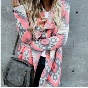 Vici collection Mojave aztec sweater